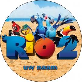 Rio rond met naam 02