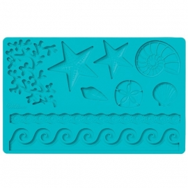 Wilton 409-2552 Sea Life Fondant and Gum Paste Mold