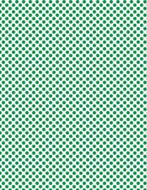 Polkadot groen
