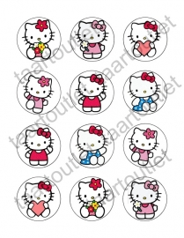 Hello Kitty 2 cupcake