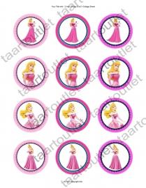Disney prinsessen cupcake 3