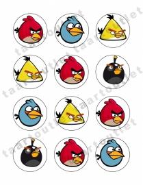 Angry birds cupcake1