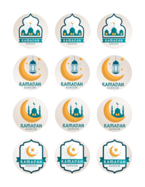 Eid mubarak cupcake 1