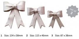 JEM 106M005 Large Bows set of 3