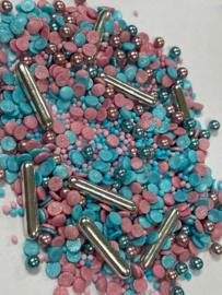 Gender reveal sprinkle  mix (50 gram)