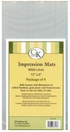 CK 35-2744 Impression Mat-LINES WIDE