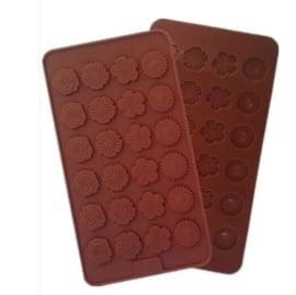 chocolate mold Bloemen
