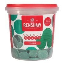 Renshaw colour melts 200 gr. green
