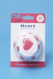 PME BC710 Heart Baking Cups Std Pk60