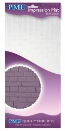 PME IM188 Brick Impression Mat