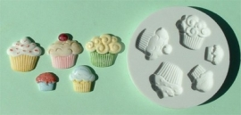 AM0022 Cupcakes mould