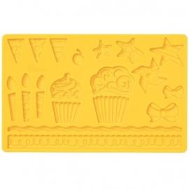 Wilton 409-25530 Kids Party Fondant and Gum Paste Mold