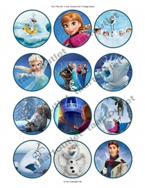 Frozen cupcake 6