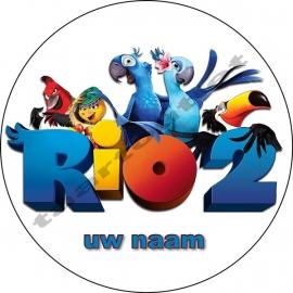 Rio rond met naam 01
