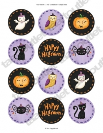 Halloween cupcake 3