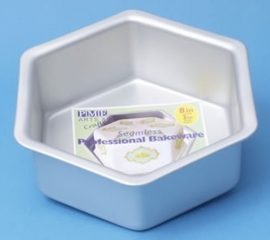 PME HEX103 Deep Hexagon Cake Pan 25 x 7,5cm
