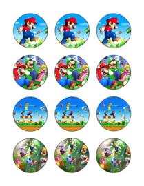 Super Mario cupcake 1