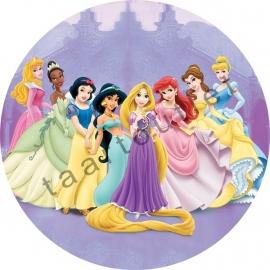 Disney prinsessen 02 rond
