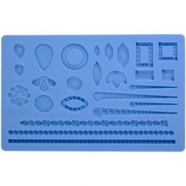 Wilton 409-2528 Fondant & Gum Paste Mold Jewelry