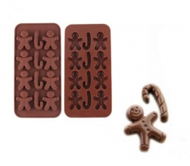 chocolate mold kerst 1