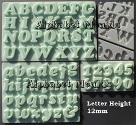 AM0112 Alphabet set Cookie Font