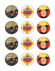 Brandweerman Sam cupcake 5