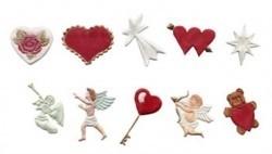 FMM CUTH&C Hearts & Cherubs cutter set