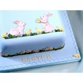 Patchwork Cutter Rabbit & Chick Set