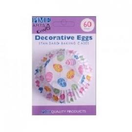 PME BC737 Decorative Eggs Std Baking Cups 60 stuks