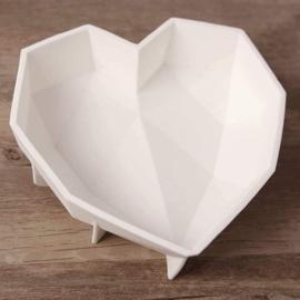 Siliconen vorm voor chocolade hart met hamertje