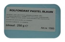 I rolfondant pastel blauw 250 gram