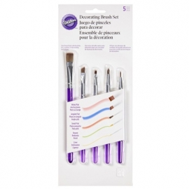 Wilton 1907-1352 Decorating Brush Set/5