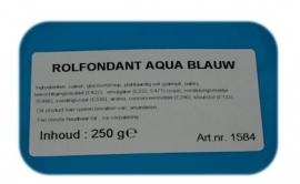 I rolfondant blauw 250 gram