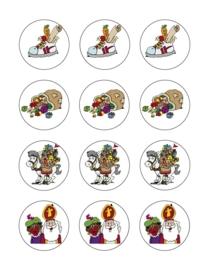 Sinterklaas cupcake 3