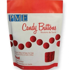 PME CB013 Candy Buttons Red 340 gr.