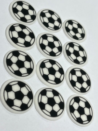 voetbalschildjes (24 stuks)