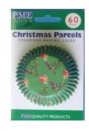 PME BC720 Christmas Parcels Baking Cups 60stk
