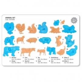 JEM 101CF006 Animal Set of 10
