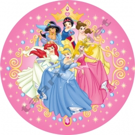 Disney prinsessen 04 rond