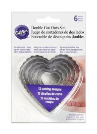Wilton 417-2588 Double Cut-Outs Set hart