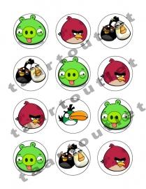 Angry birds cupcake4
