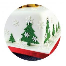 PME SF709 mini Snowflake Plunger Cutter Set 3/ sneeuwvlok