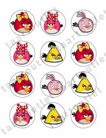 Angry birds cupcake2