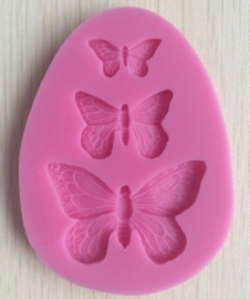 CV 20- vlinder mold