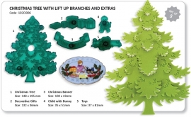 JEM 102C1006 Christmas Tree & Extras set 5