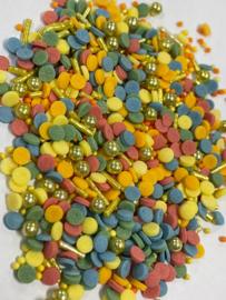 Confetti sprinkle mix (50 gram)