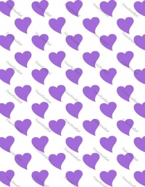 Hartjes paars