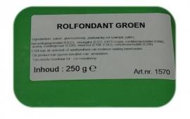 I rolfondant groen 250 gram