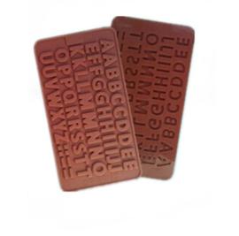 chocolate mold alphabet