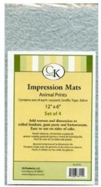 CK 35-2750 Impression Mat-ANIMAL PRINTS